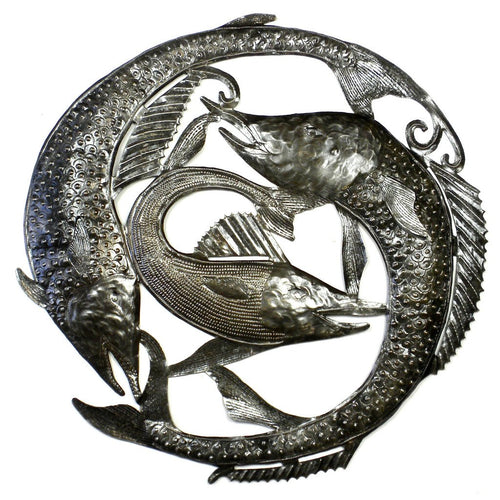 Global Crafts - Swordfish Metal Wall Art - Croix des Bouquets