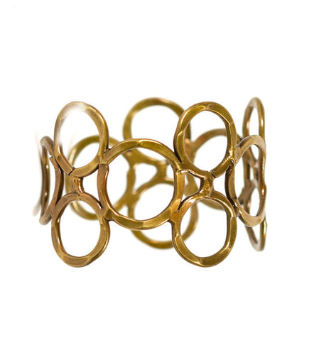 Global Crafts - Orbit Cuff - Brass - Matr Boomie (Jewelry)