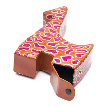 Load image into Gallery viewer, Global Crafts - Leather Giraffe Coin Bank - Matr Boomie