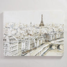 Load image into Gallery viewer, Paris City Sketch by Piotr Michal