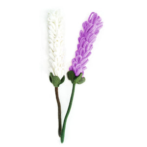Global Crafts - Felt Lavender Stem - Sold Individually - Hamro Village