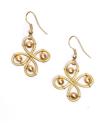 Global Crafts - Banyan Blossom Earrings - Matr Boomie (Jewelry)