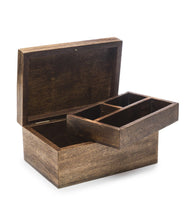 Load image into Gallery viewer, Global Crafts - Aranyani Mango Wood Jewelry Box - Matr Boomie (B)