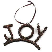 Load image into Gallery viewer, Global Crafts - Joy Bike Chain Ornament - Mira (D)