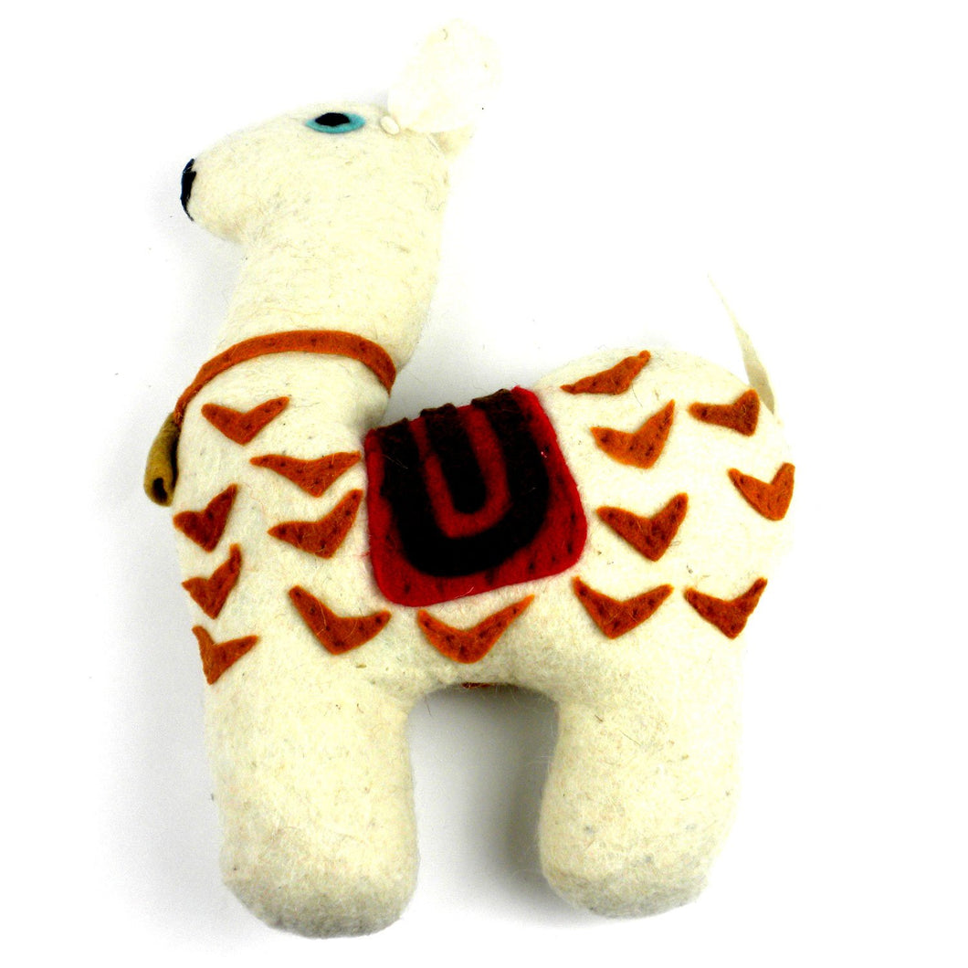 Global Crafts - Felted Friends Llama - Silk Road (G)