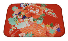 Load image into Gallery viewer, Bath Mat, Vintage Japanese Kimono Designs