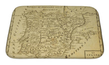 Load image into Gallery viewer, Bath Mat, Spain And Portugal Old Map