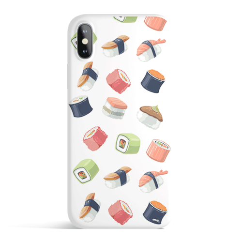 Sushi Lover - Colored Candy Cases Matte TPU iPhone