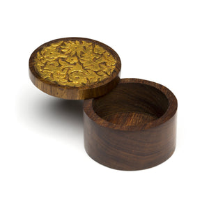 Global Crafts - Kashvi Keepsake Box - Vines - Matr Boomie (B)