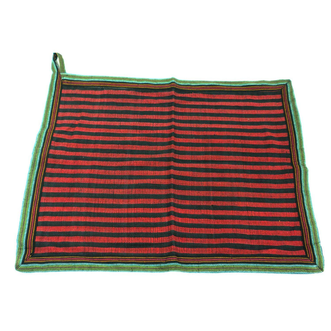 Global Crafts - Dish Towel in Red - Jeevankala (L)