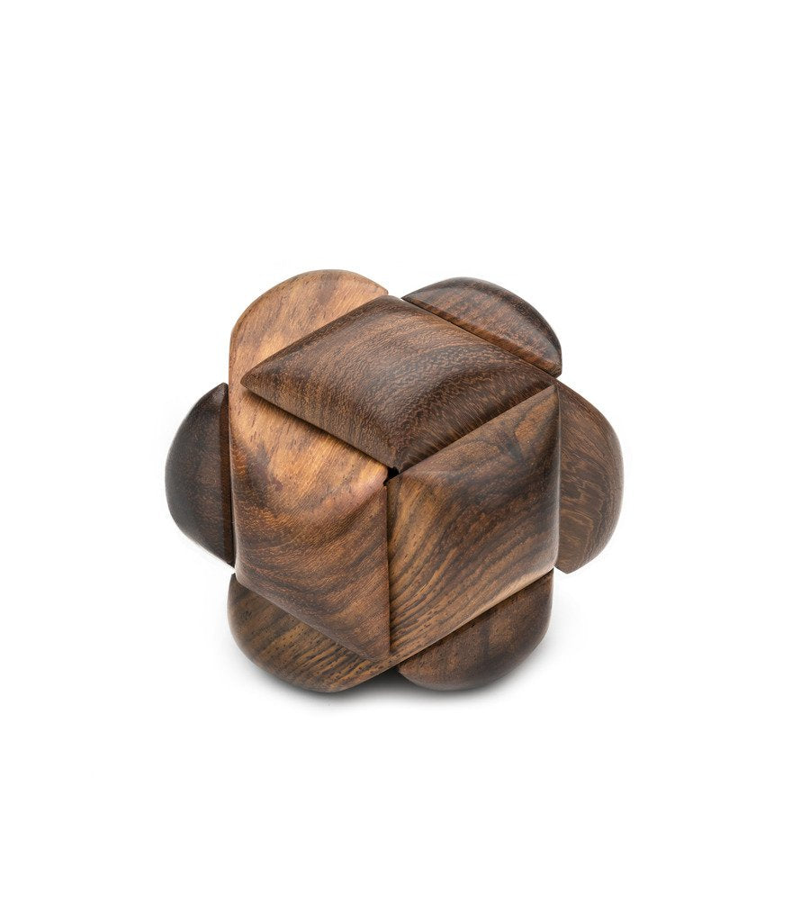 Global Crafts - Wooden Knot Puzzle - Matr Boomie