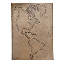 Load image into Gallery viewer, Global Crafts - Ancient Globetrotter Leather Journal - Matr Boomie (J)