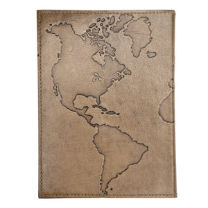 Global Crafts - Ancient Globetrotter Leather Journal - Matr Boomie (J)