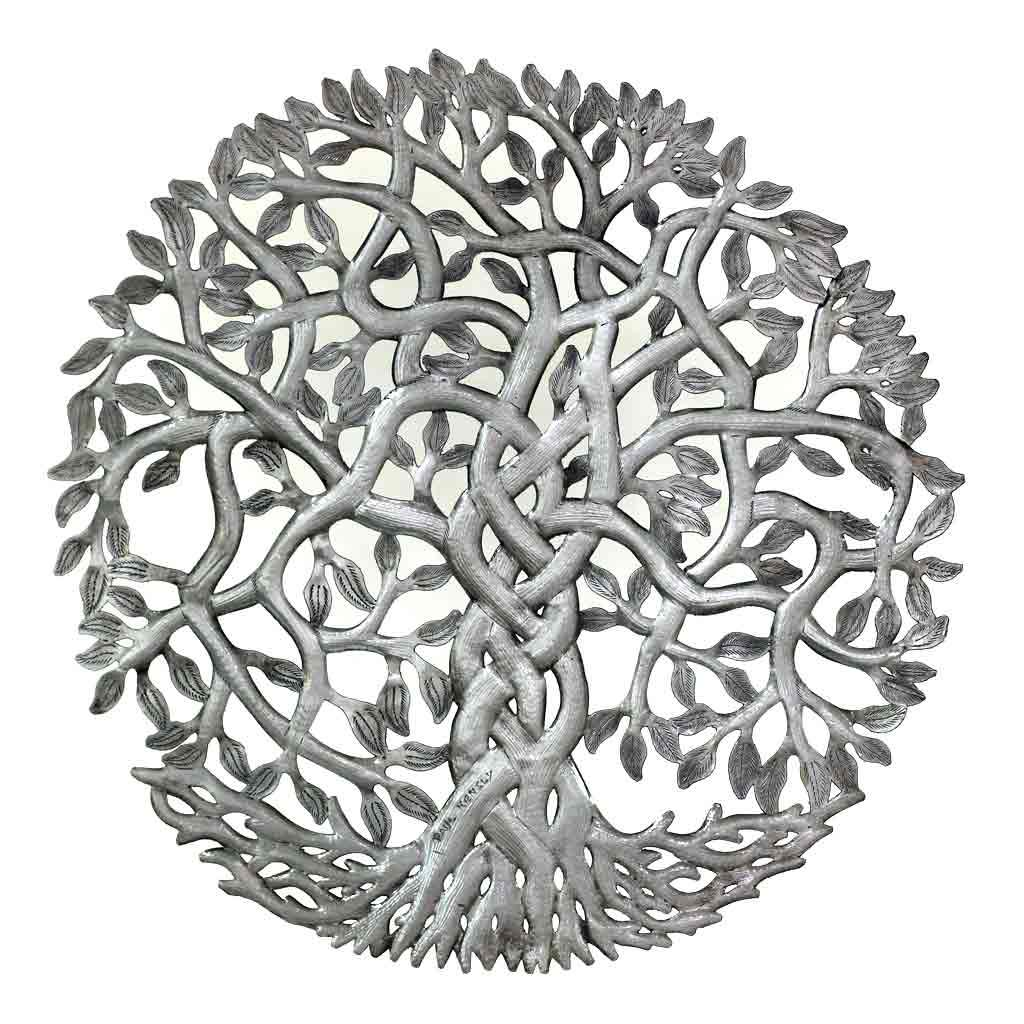 Global Crafts - Entangled Tree of Life Wall Art - Croix des Bouquets