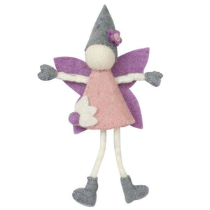 Global Crafts - Cream Tooth Fairy with Hat - Global Groove