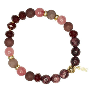 Global Crafts - Roll-on Bracelet: Amy Pluot - Marquet (J)