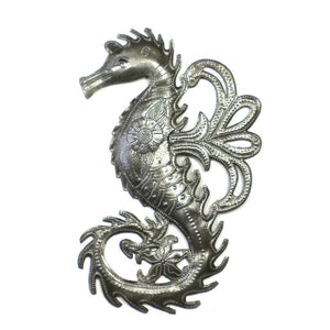 Global Crafts - Seahorse Metal Wall Art - Croix des Bouquets