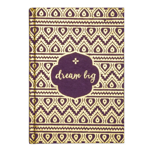 Global Crafts - Metallic Message Journal - Dream Big - Matr Boomie (J)