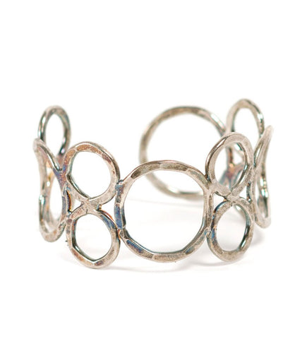 Global Crafts - Orbit Cuff - Silvertone - Matr Boomie (Jewelry)