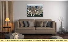 Load image into Gallery viewer, Gallery Wrapped Canvas, Boston Skyline From Air