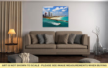 Load image into Gallery viewer, Gallery Wrapped Canvas, Aerial View Of South Miami Beach