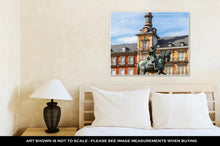 Load image into Gallery viewer, Gallery Wrapped Canvas, Statue Of Philip Iii At Mayor Plaza In Madrid