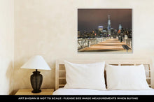 Load image into Gallery viewer, Gallery Wrapped Canvas, Freedom Tower New York City Skyline From New Jersey
