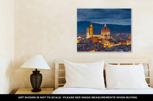 Load image into Gallery viewer, Gallery Wrapped Canvas, Cathedral Of Santmaridel Fiore Duomo Cathedral In Florence Italy