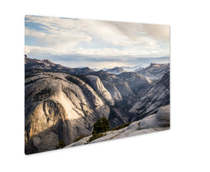 Metal Panel Print, View Along John Muir Trail Yosemite National Park