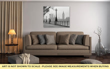 Load image into Gallery viewer, Gallery Wrapped Canvas, Big Ben Houses Of Parliament Black And White Photo