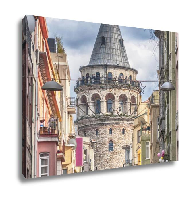 Gallery Wrapped Canvas, Istanbul Galata Tower