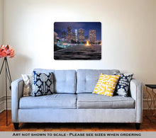 Load image into Gallery viewer, Metal Panel Print, Downtown Los Angeles Skyline