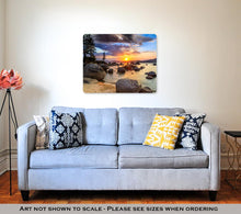 Load image into Gallery viewer, Metal Panel Print, Sunset
