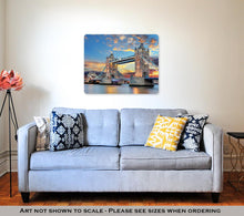 Load image into Gallery viewer, Metal Panel Print, Tower Bridge In London UK