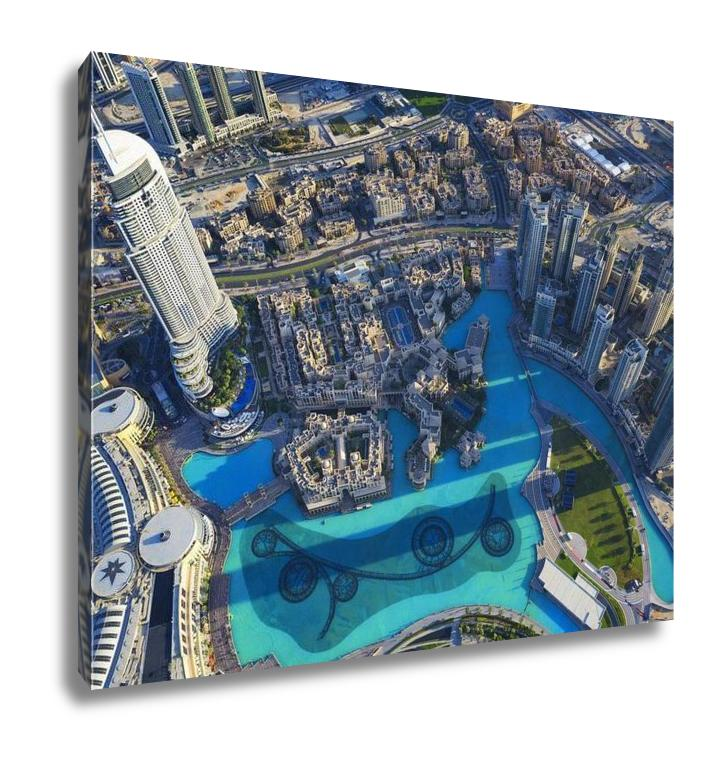 Gallery Wrapped Canvas, Dubai City View