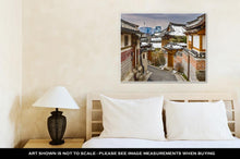 Load image into Gallery viewer, Gallery Wrapped Canvas, Historic Korean Neighborhood