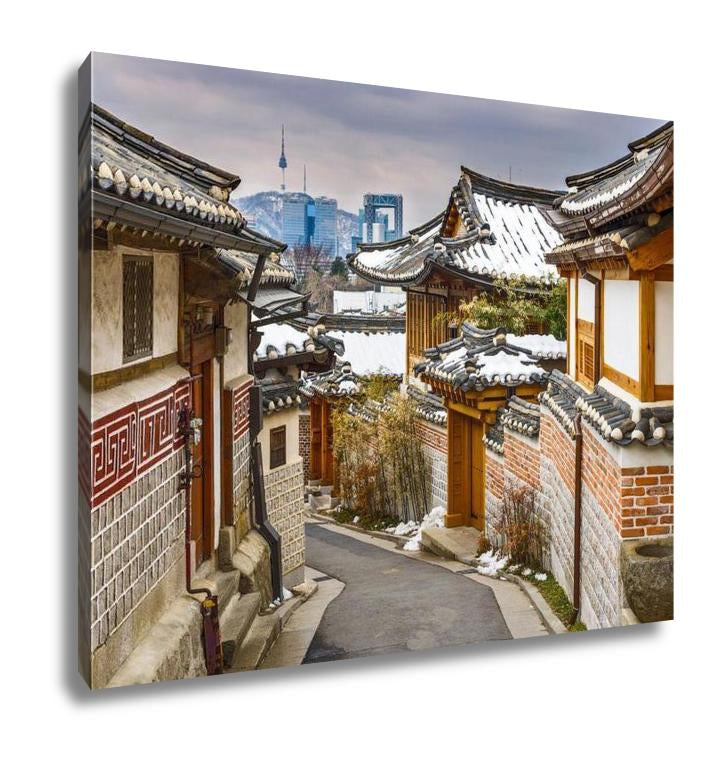 Gallery Wrapped Canvas, Historic Korean Neighborhood