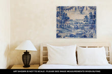 Load image into Gallery viewer, Gallery Wrapped Canvas, Traditional Tiles Azulejos Lisbon Portugal