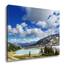 Load image into Gallery viewer, Gallery Wrapped Canvas, Hike On Garibaldi Lake Near Whistler BC Canada