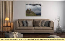 Load image into Gallery viewer, Gallery Wrapped Canvas, Photo Trinity Church In Gergeti Against The Backdrop Of Snowy Mountains And