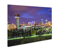 Load image into Gallery viewer, Metal Panel Print, Knoxville Tennessee