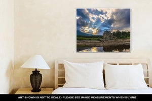 Gallery Wrapped Canvas, Chapel On The Rock Allenspark Colorado