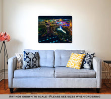 Load image into Gallery viewer, Metal Panel Print, The Las Vegas Strip As Seen From The Cosmopolitan Hotel With View Onto Bellagio