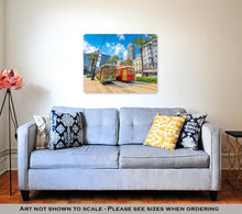 Load image into Gallery viewer, Metal Panel Print, New Orleans Streetcars