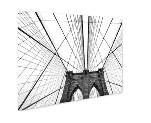 Metal Panel Print, Brooklyn Bridge Of New York City USA