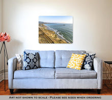 Load image into Gallery viewer, Metal Panel Print, California Coastline At The Scripps Pier
