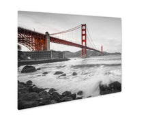 Load image into Gallery viewer, Metal Panel Print, Golden Gate Bridge