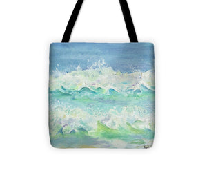 Explorations-SFI: Las Olas Square II Tote Bag