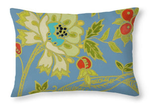 Explorations-SFI: Berry Cherry II Throw Pillow