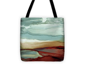 Explorations-SFI: New Sky Square Tote Bag